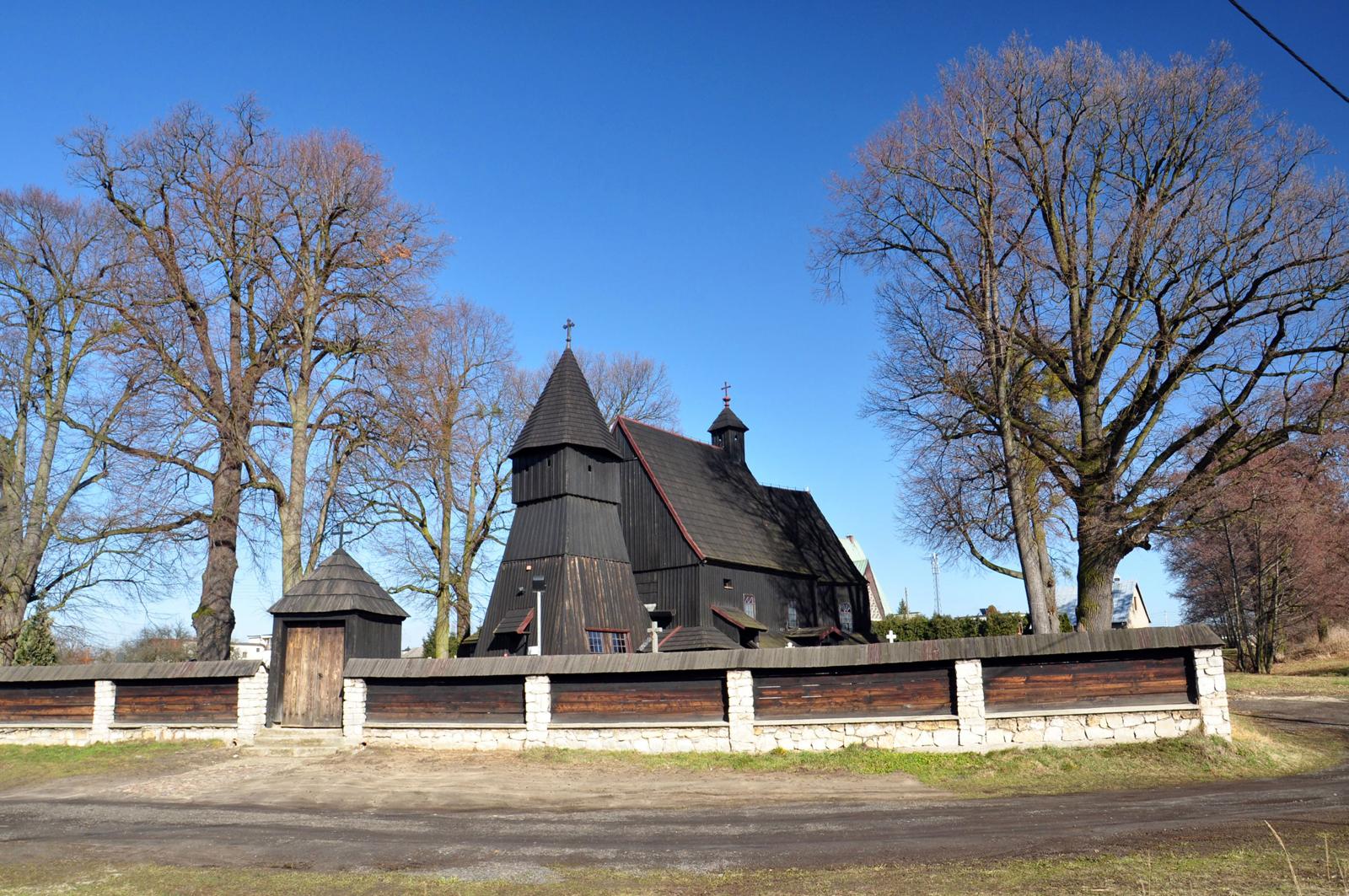 Bojszów – kościół cmentarny Wszystkich Świętych z końca XV wieku