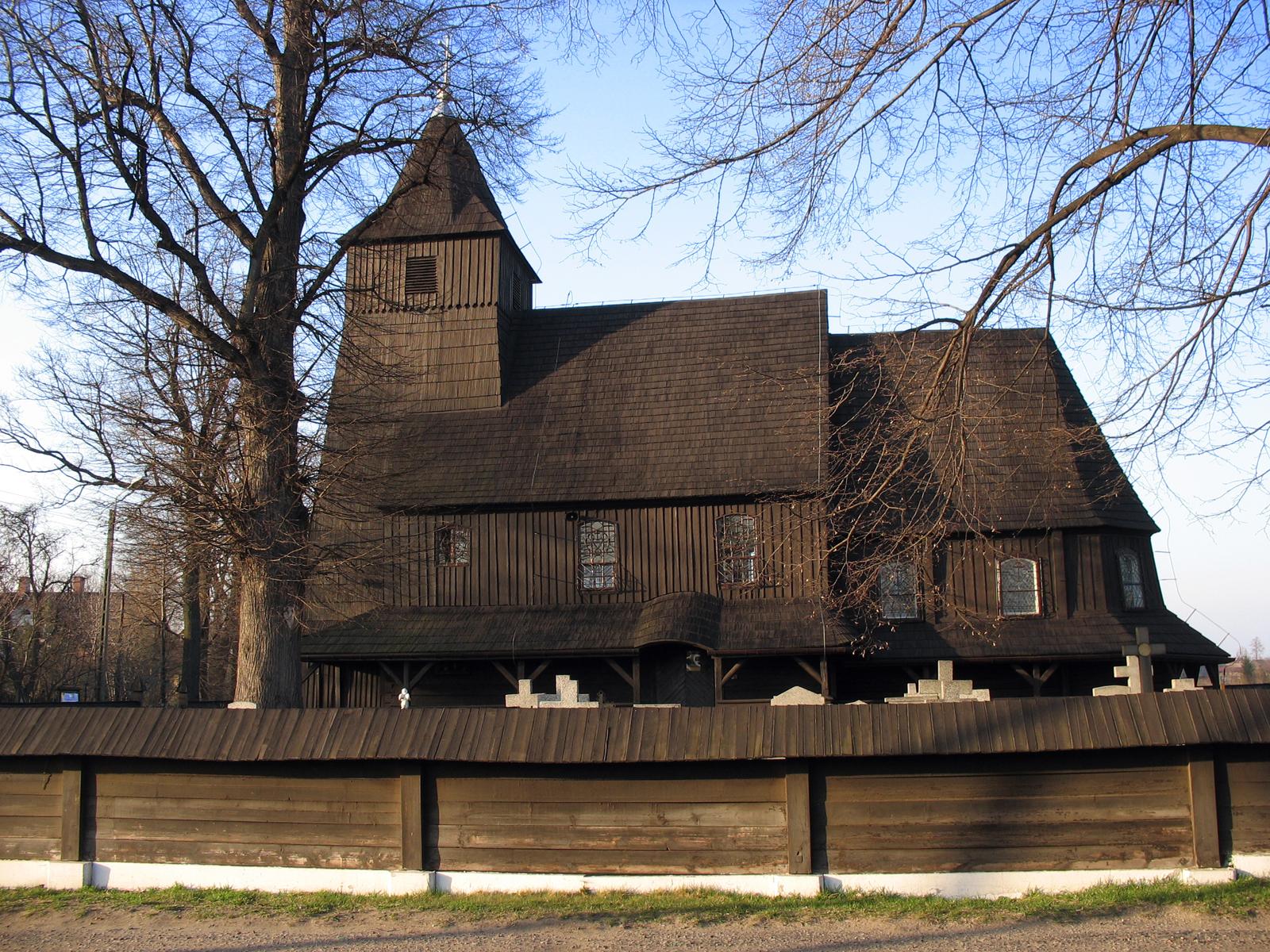 Góra - kościół Św. Barbary z 2 poł. XVI wieku