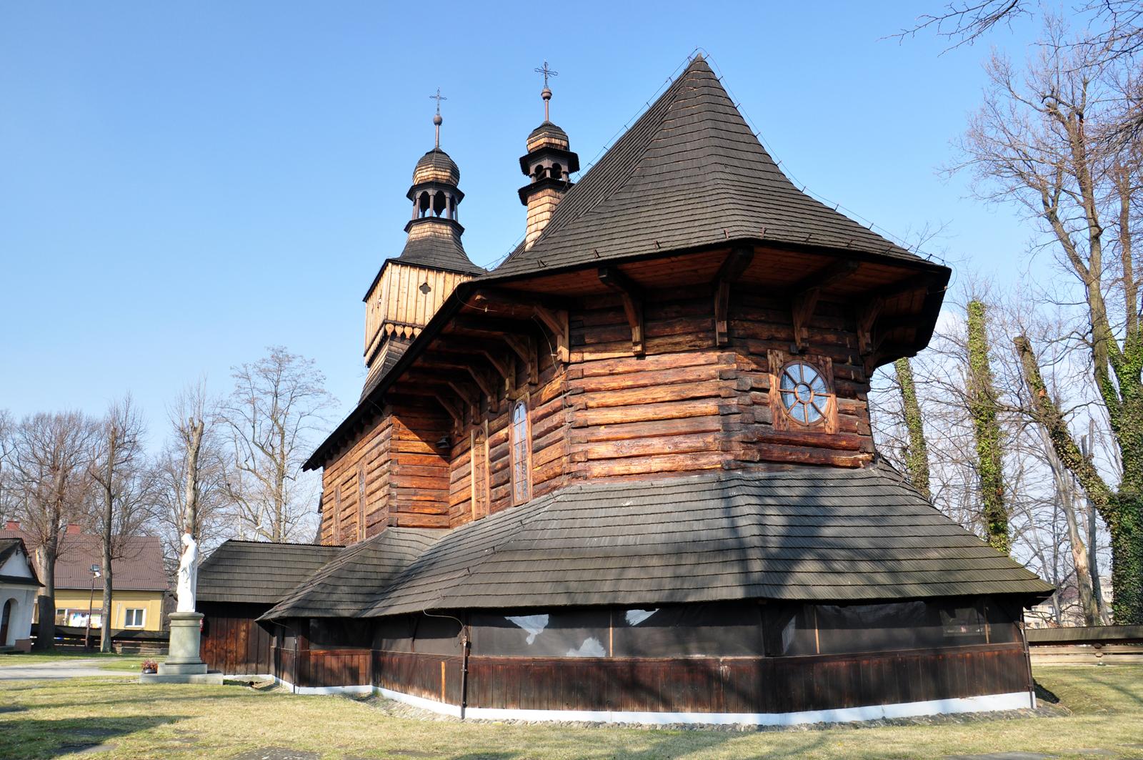 Jawiszowice -kościół Św. Marcina z 1692 roku