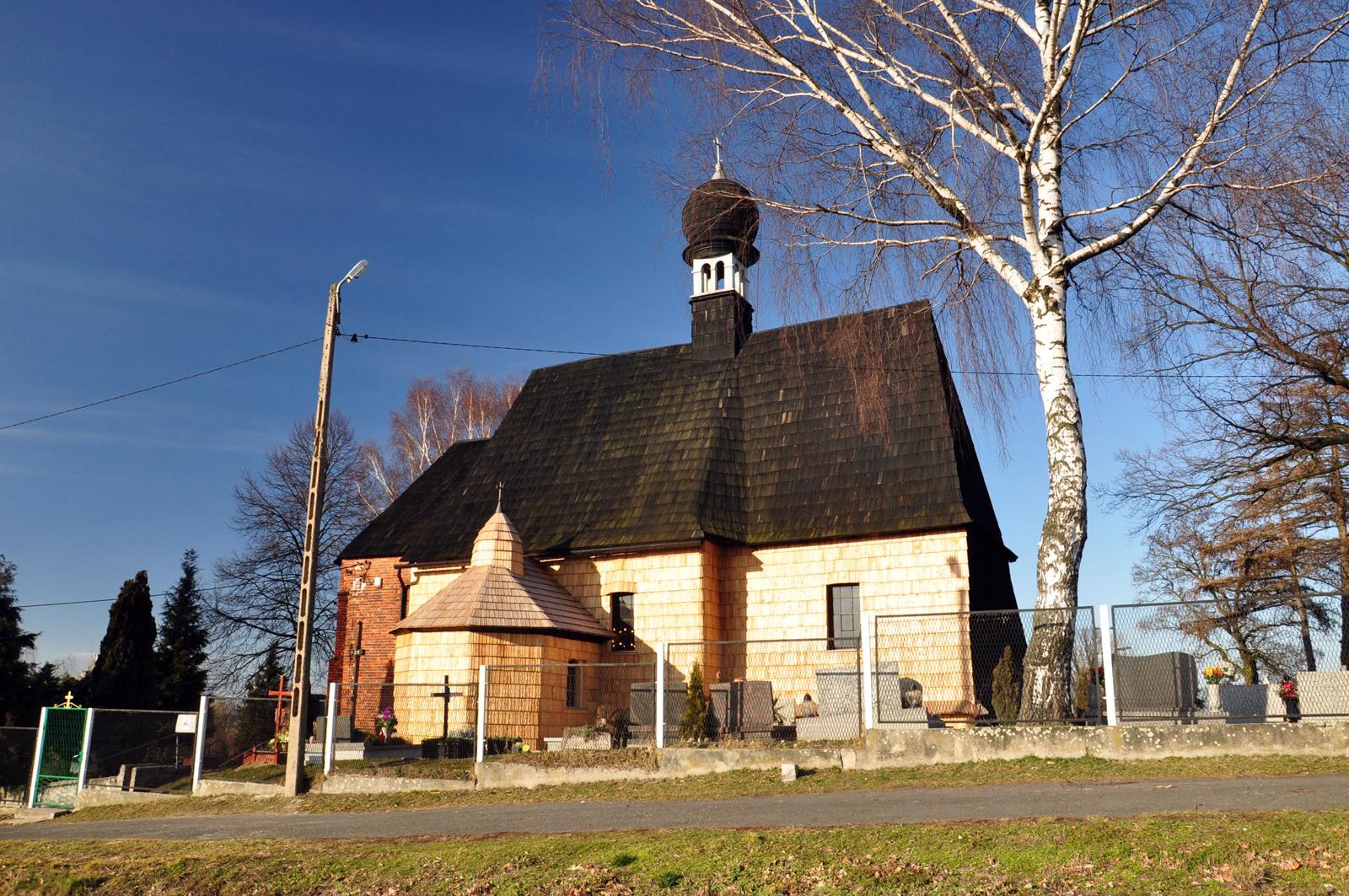 Księży Las - kościół filialny Św. Michała Archanioła z 1494 roku
