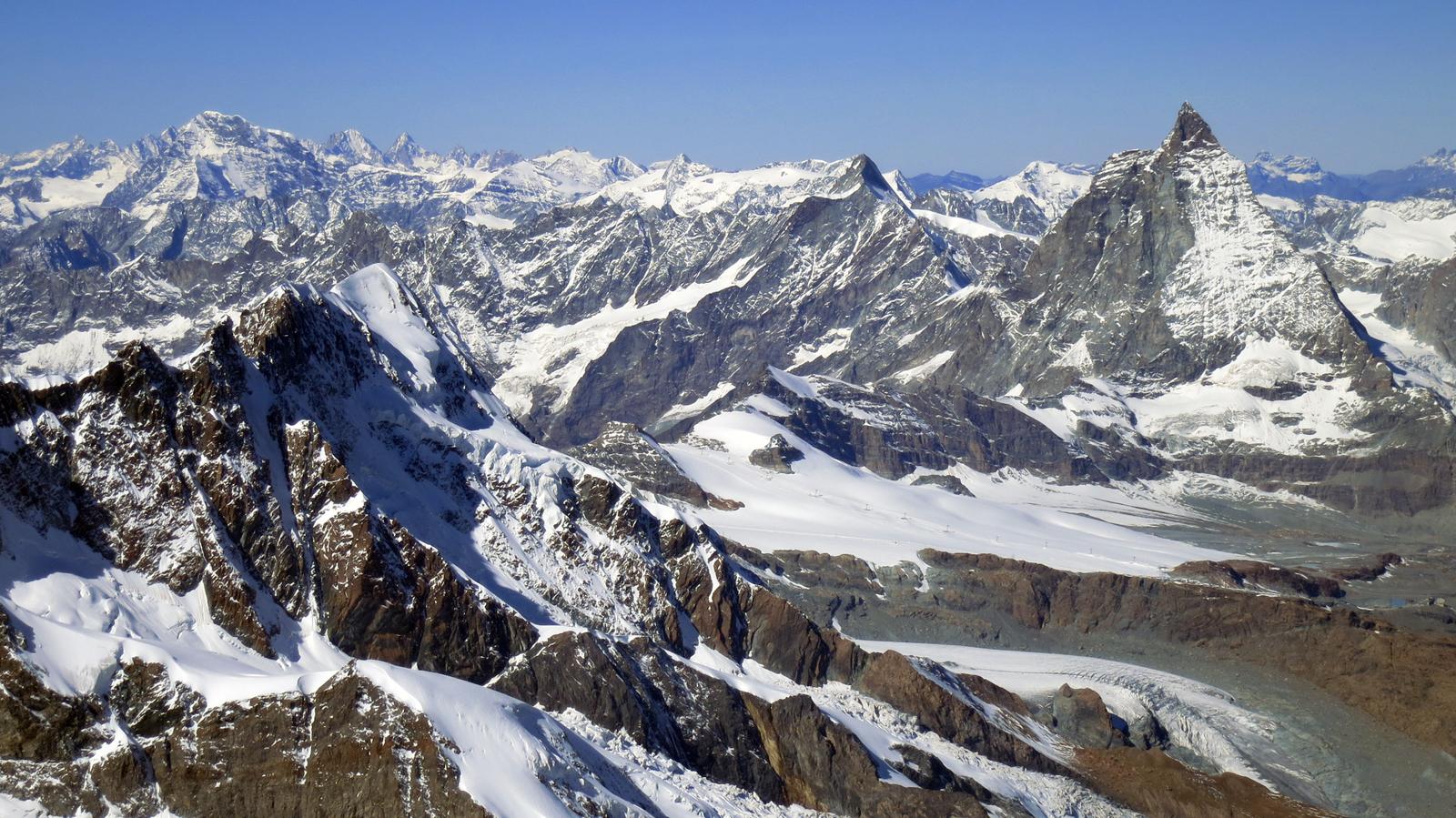 Matterhorn z Dufourspitze