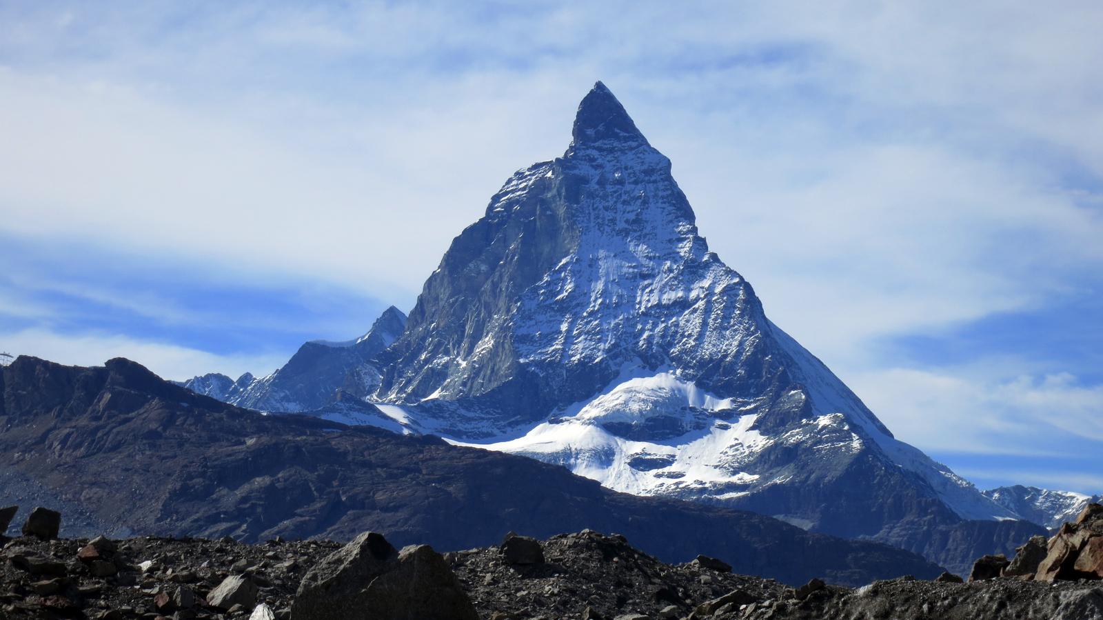 Matterhorn - płd. ściana