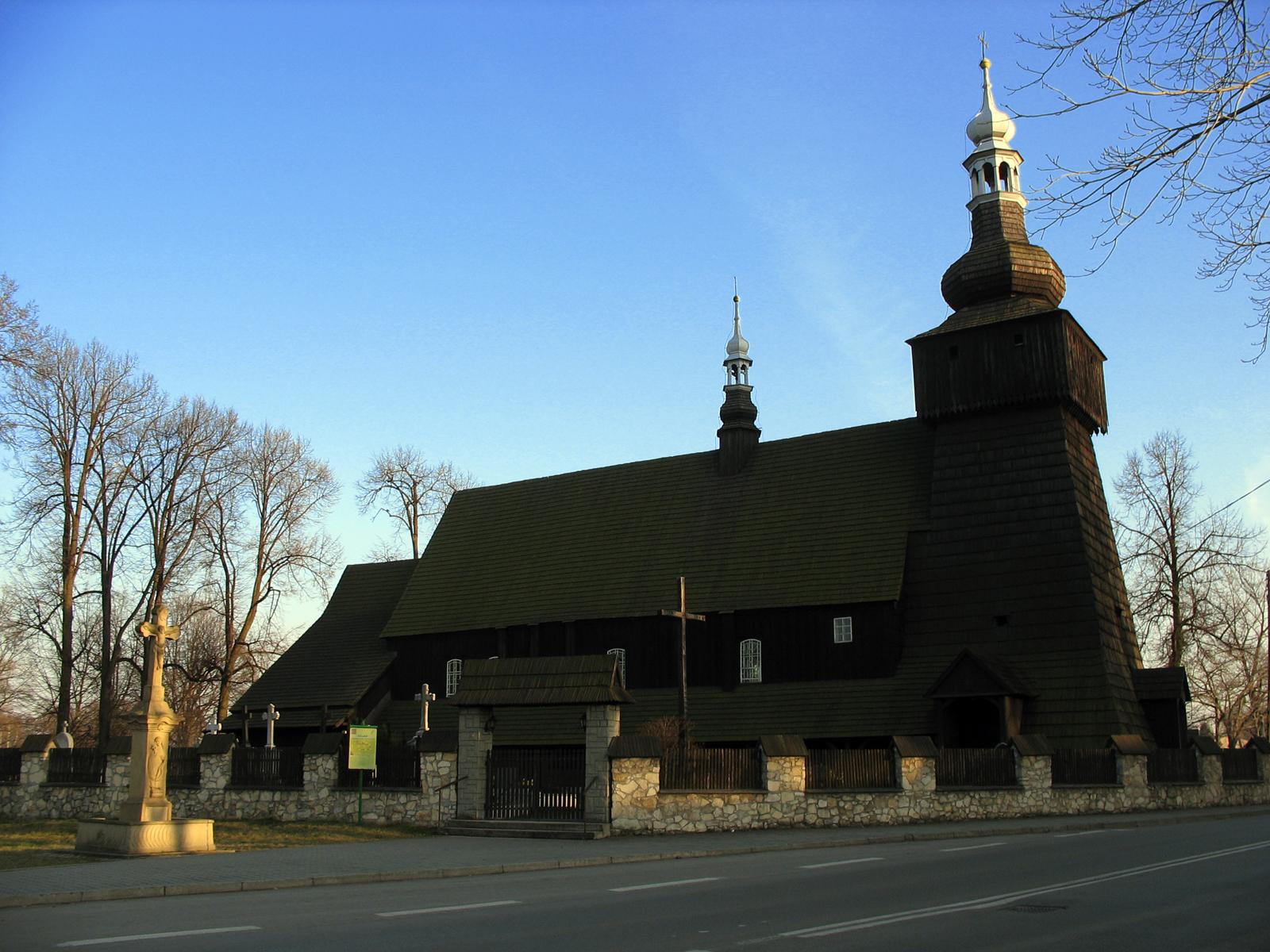 Miedźna - kościół Św. Klemensa Papieża z XVII wieku