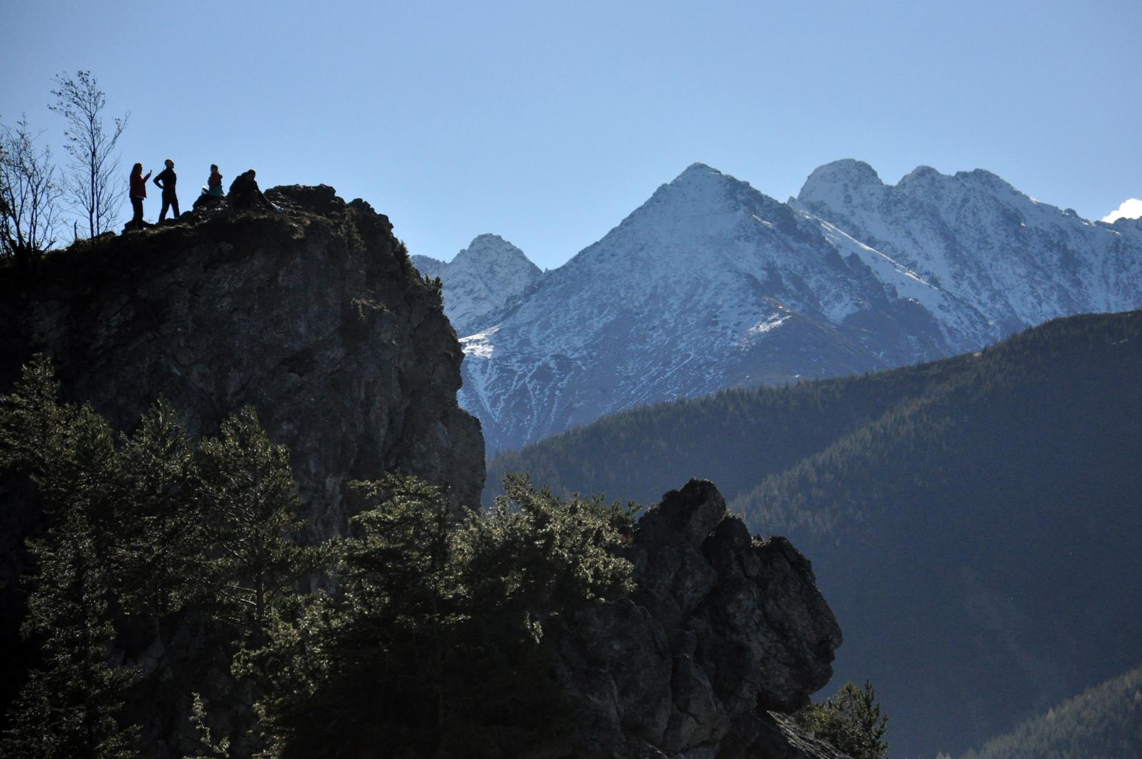 Nosal - panorama na Tatry Wysokie