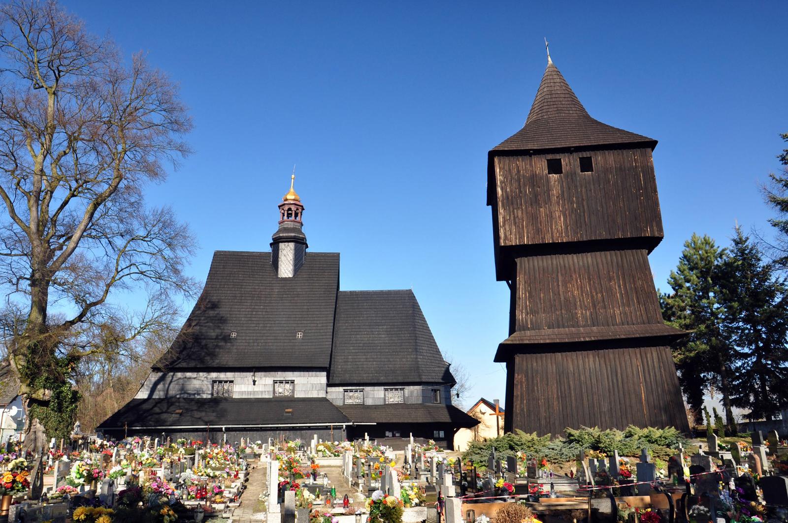 Poniszowice – kościół Św. Jana Chrzciciela z 1499 roku