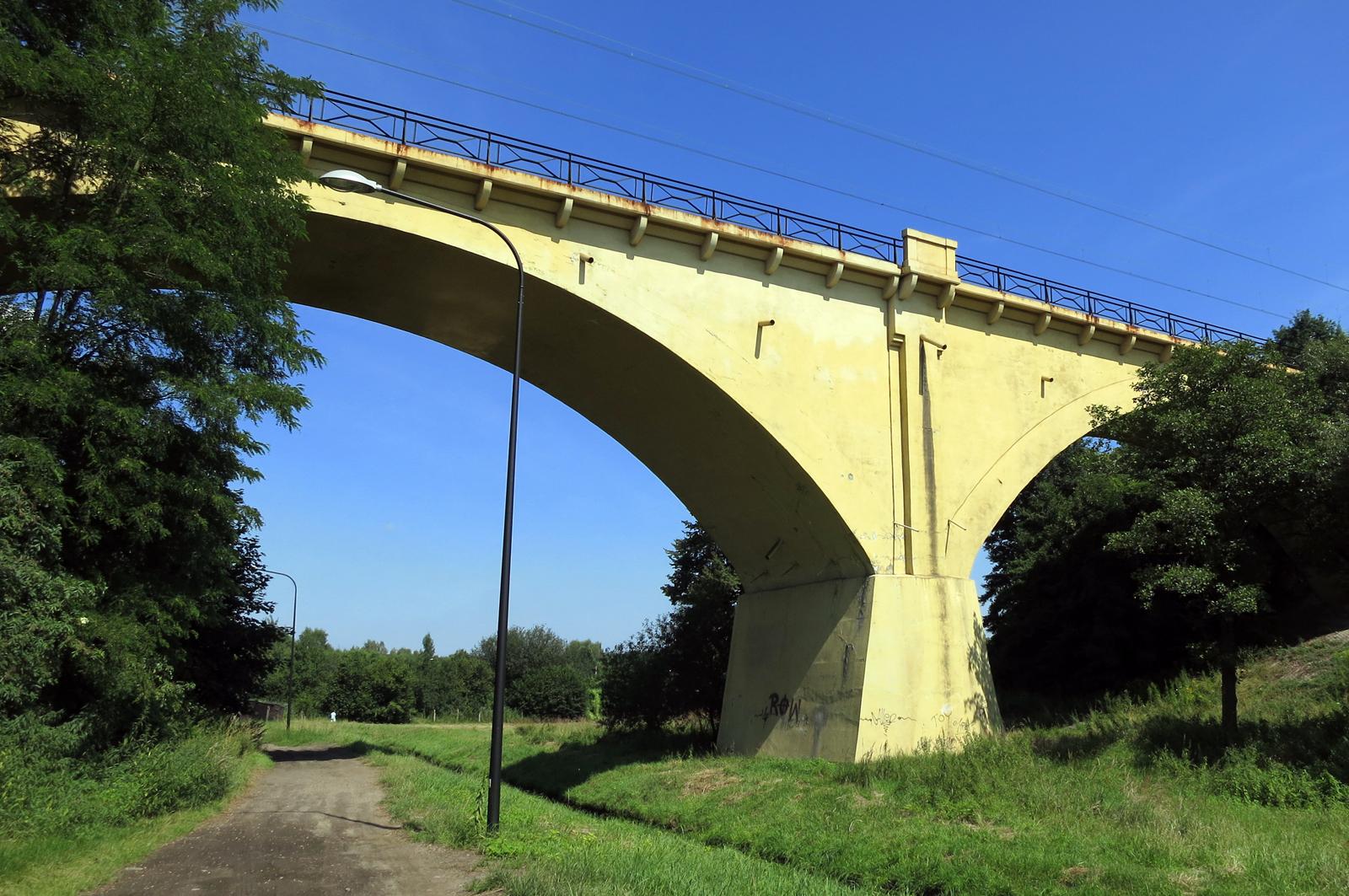 Rybnik - wiadukt kolejowy