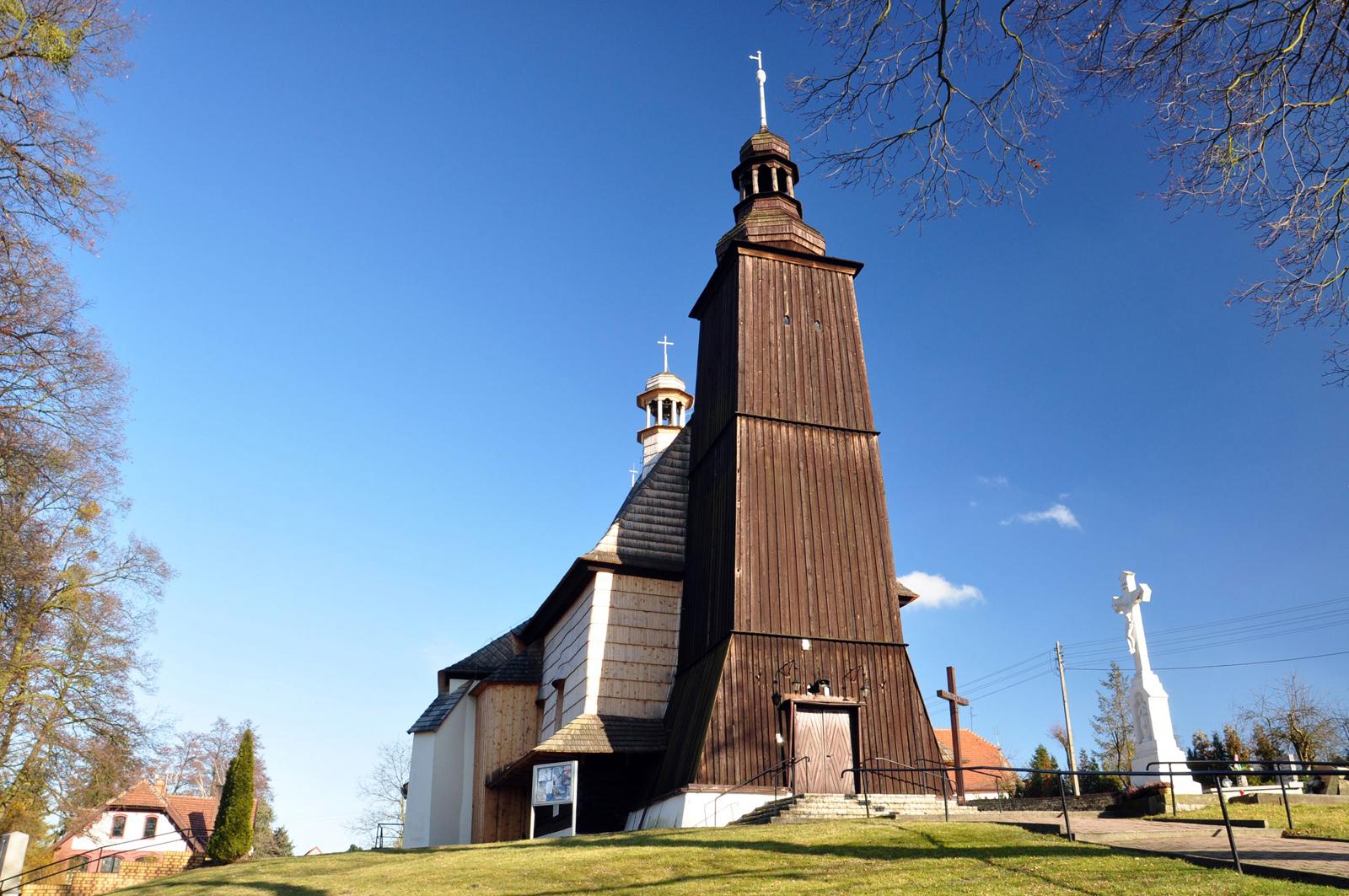 Sieroty – kościół Wszystkich Świętych z 1707 roku