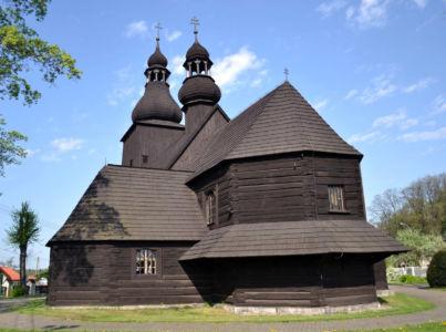 Borowa Wieś – kościół Św. Mikołaja z 1640 roku
