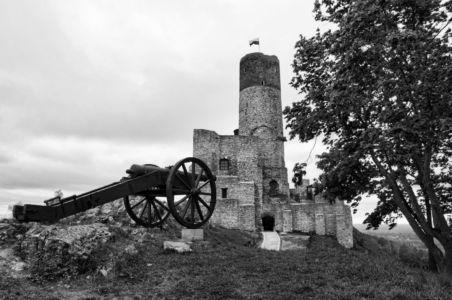 Chęciny - Ruiny Zamku Królewskiego
