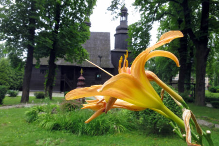 Gliwice - kościół Wniebowzięcia NMP z końca XV wieku