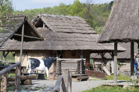 Huta Szklana - Osada Średniowieczna