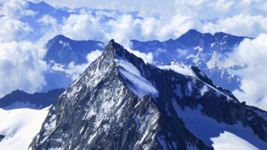 widok z Lagginhorn