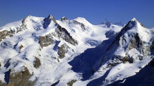 Monte Rosa - widok z Matterhorn