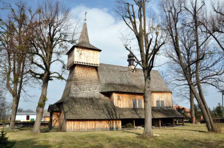 Nidek -  kościół Św. Szymona i Judy Tadeusza z 1536 roku