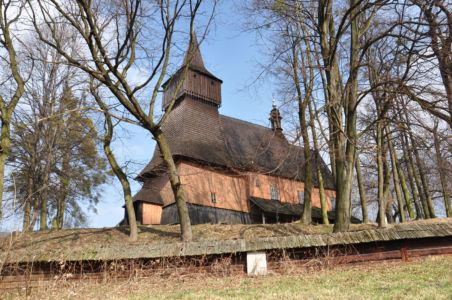 Osiek - kościół Św. Andrzeja z lat 1538–49