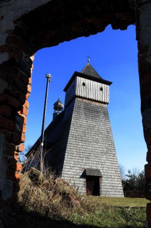 Gliwice Ostropa - kościół Św. Jerzego z 1667 roku
