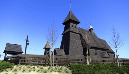 Palowice - kościół Trójcy Przenajświętszej z 1981 roku