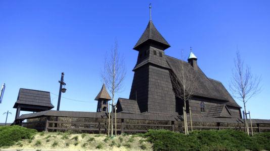 Palowice - kościół Świętej Trójcy z lat 1594 – 1595