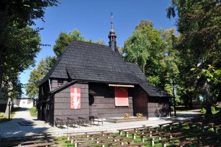 Pietrowice Wielkie - kościół Św. Krzyża z 1667 roku