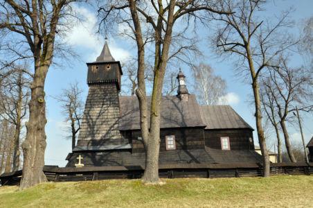 Poręba Wielka - kościół Św. Bartłomieja z XVI wieku