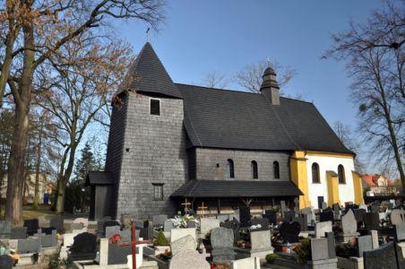 Rachowice - kościół Świętej Trójcy  z 1668 roku