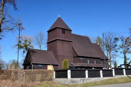 Rudziniec – kościół Św. Michała Archanioła z 1657 roku