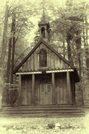 Święta Katarzyna - Kaplica Św. Franciszka (Łysica)