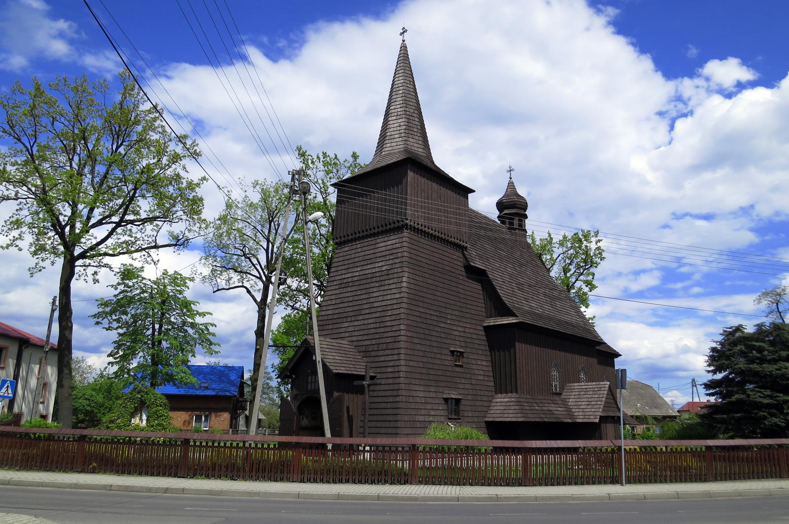 Wilcza - kościół Św. Mikołaja z 1755 roku