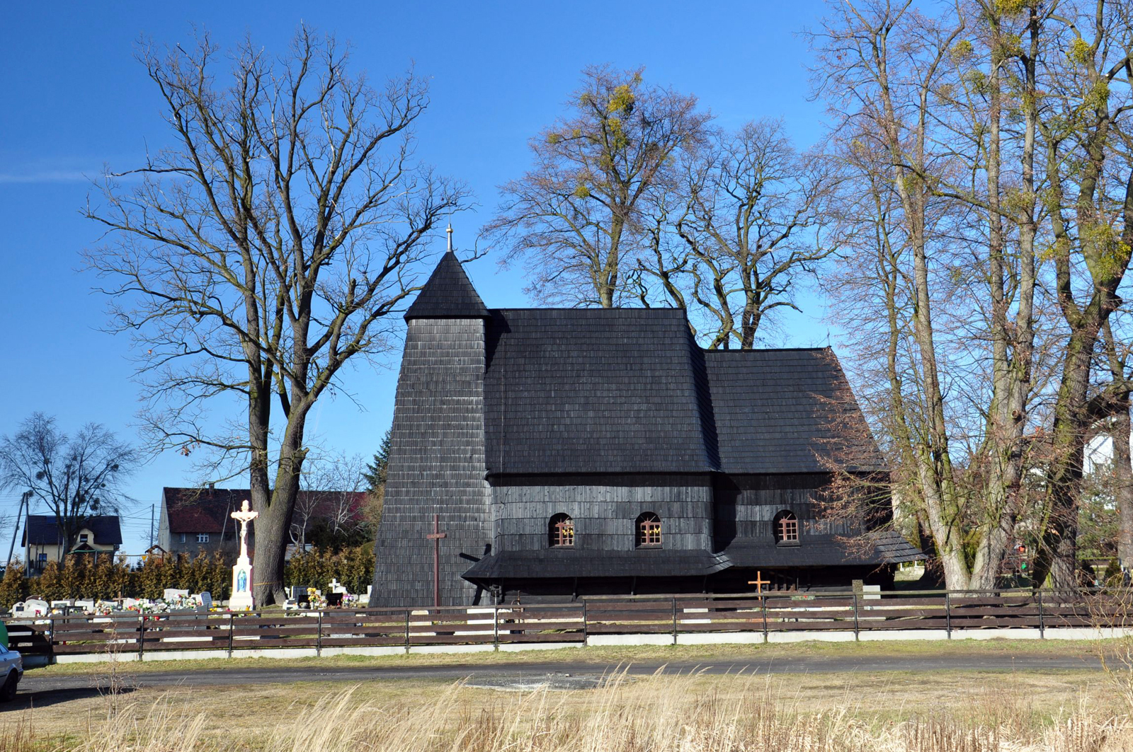Zacharzowice – kościół filialny Św. Wawrzyńca z 1580 roku